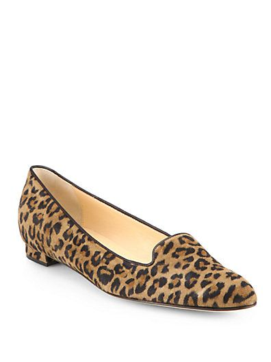 Manolo Blahnik Printed Suede Loafers sale cost classic cheap online gylYW3nTP