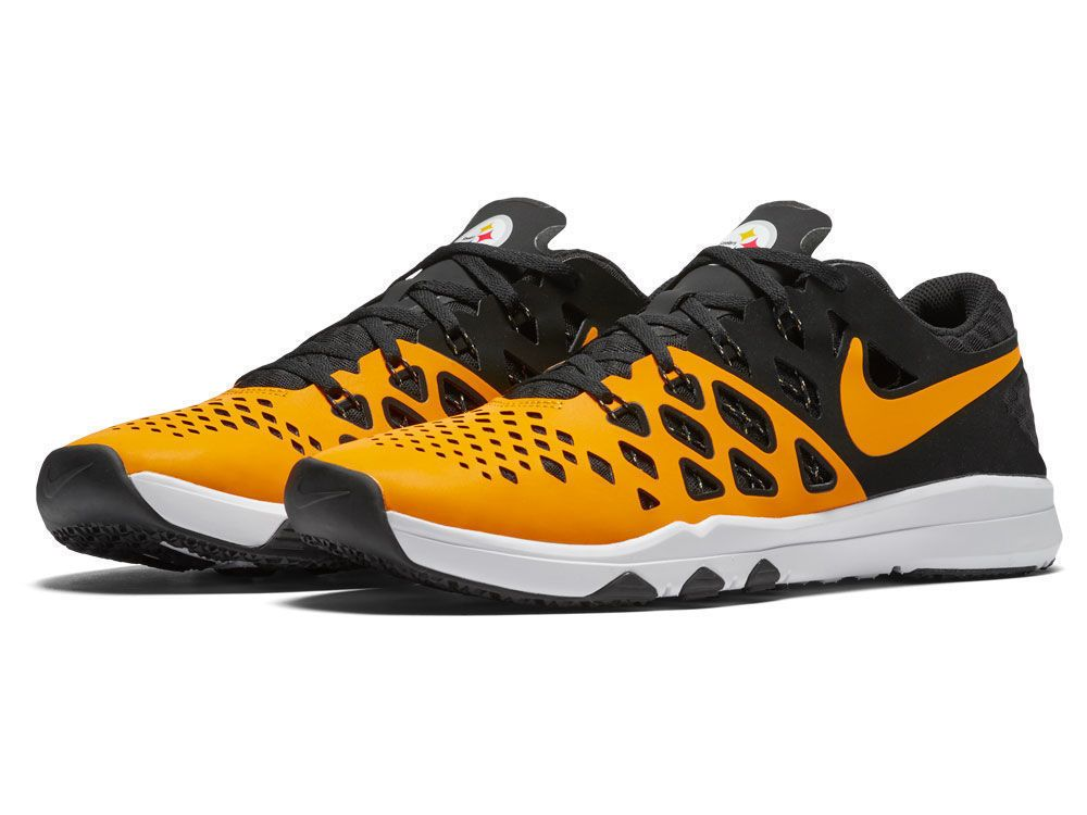 New Mens Nike Train Speed 4 AMP 848587-714 NFL Pittsburgh Steelers size 6
