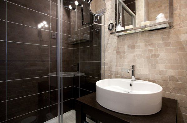 1000 images about salle de bain on pinterest - Sdb Chocolat Taupe