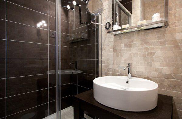 salle de bain r alis e avec pierre de turquie salle de. Black Bedroom Furniture Sets. Home Design Ideas