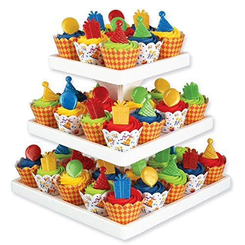 Birthday Cupcake Decorating Kit Bakery Crafts httpwwwamazoncom