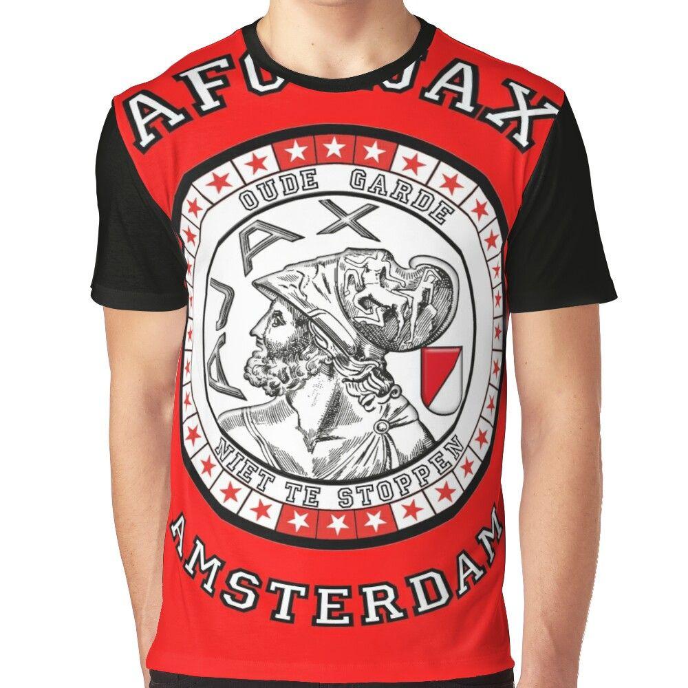 Ajax Amsterdam Stars Graphic T Shirt By District020 In 2021 Shirts T Shirt Shirt Designs