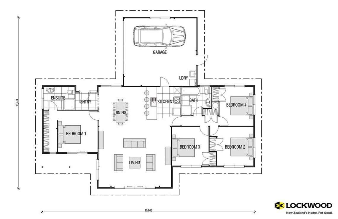 Albatross kitset - House Plans New Zealand   House Designs NZ ...