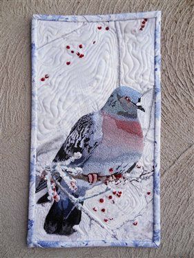 Mourning Dove - Media - Quilting Daily | Art Quilts/Fiber Arts ... : quilting daily - Adamdwight.com