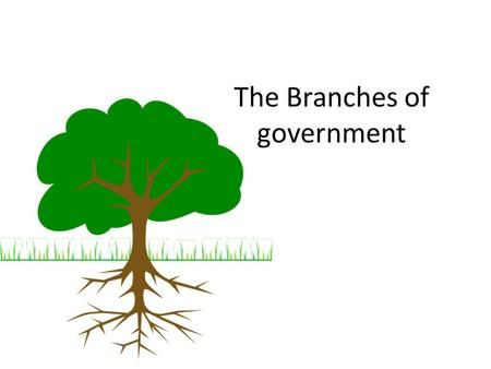 The Branches of government The powers of Canadas government are divided into…