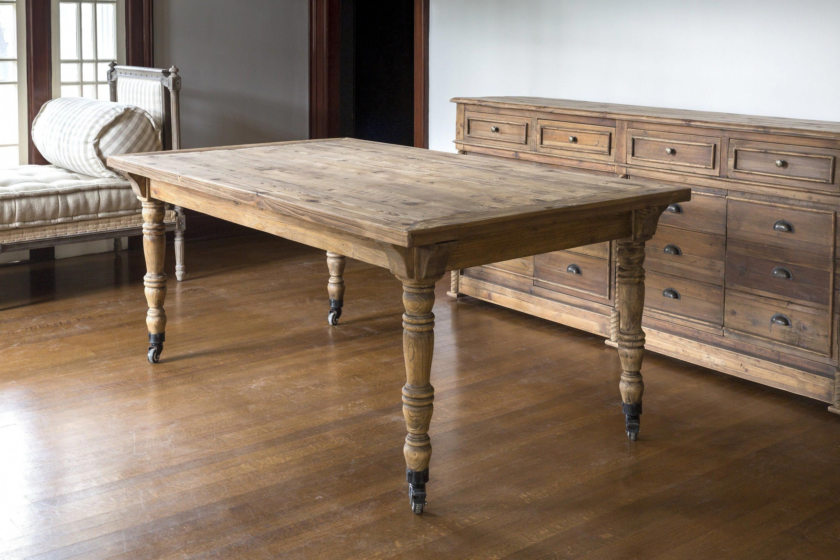 Jennifer Farm Table Free Shipping A reproduction of a