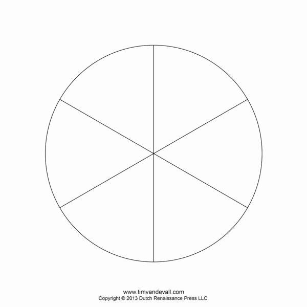 Blank Pie Chart Template Lovely Blank Pie Chart Templates ...