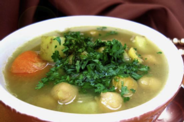 Morrocan Chickpea Soup