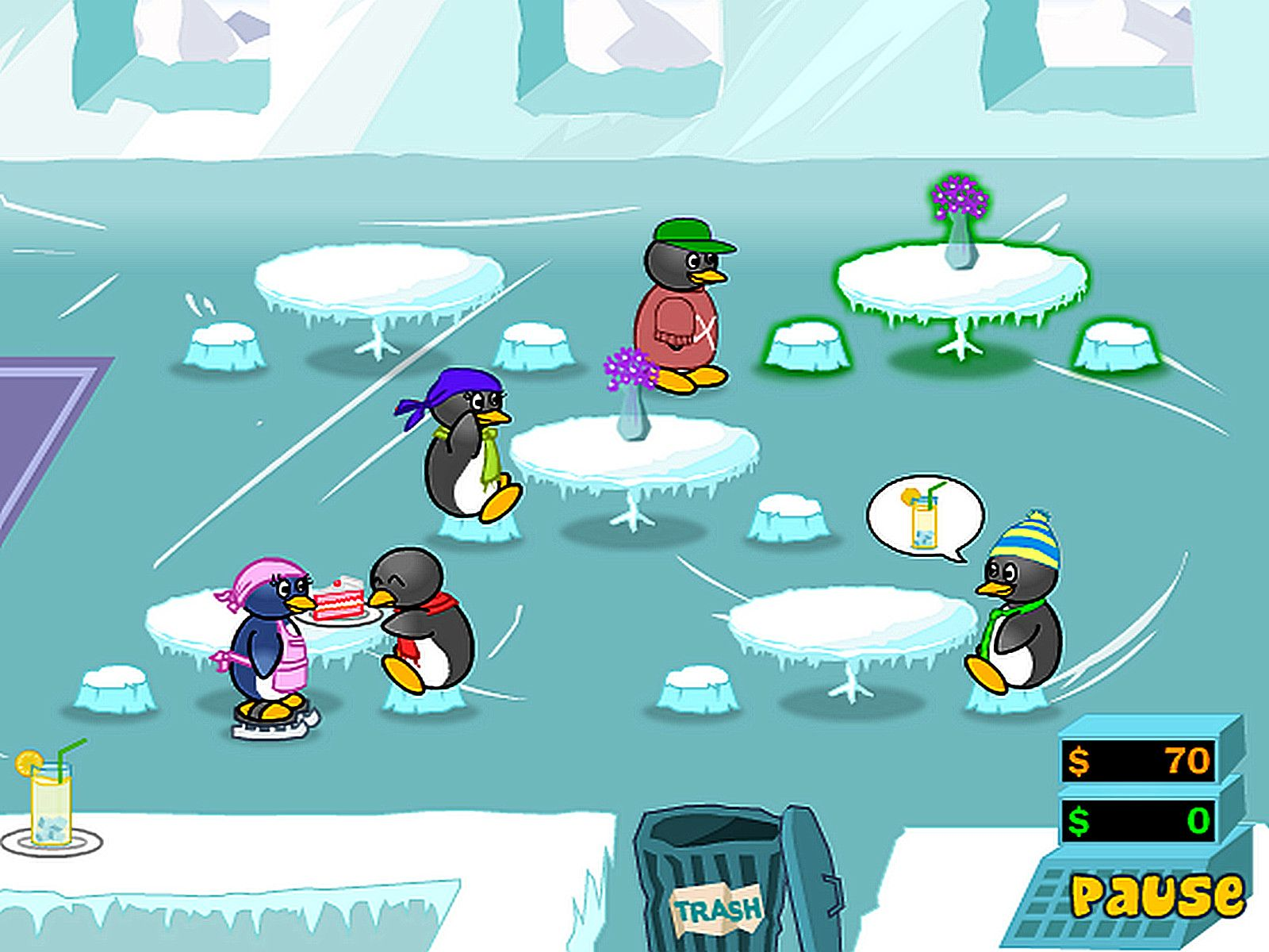 Coole Spiele Pinguin Diner 2