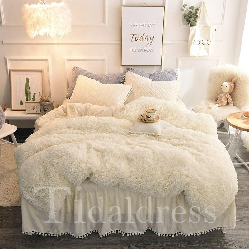 Polyester Four Piece Set Duvet Cover Set Bettwasche Schlafzimmer