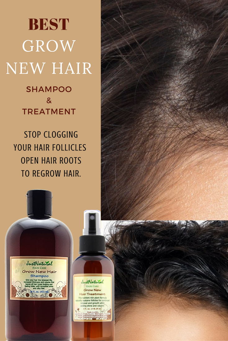 focus on your scalp and follicles for faster longer hair growth