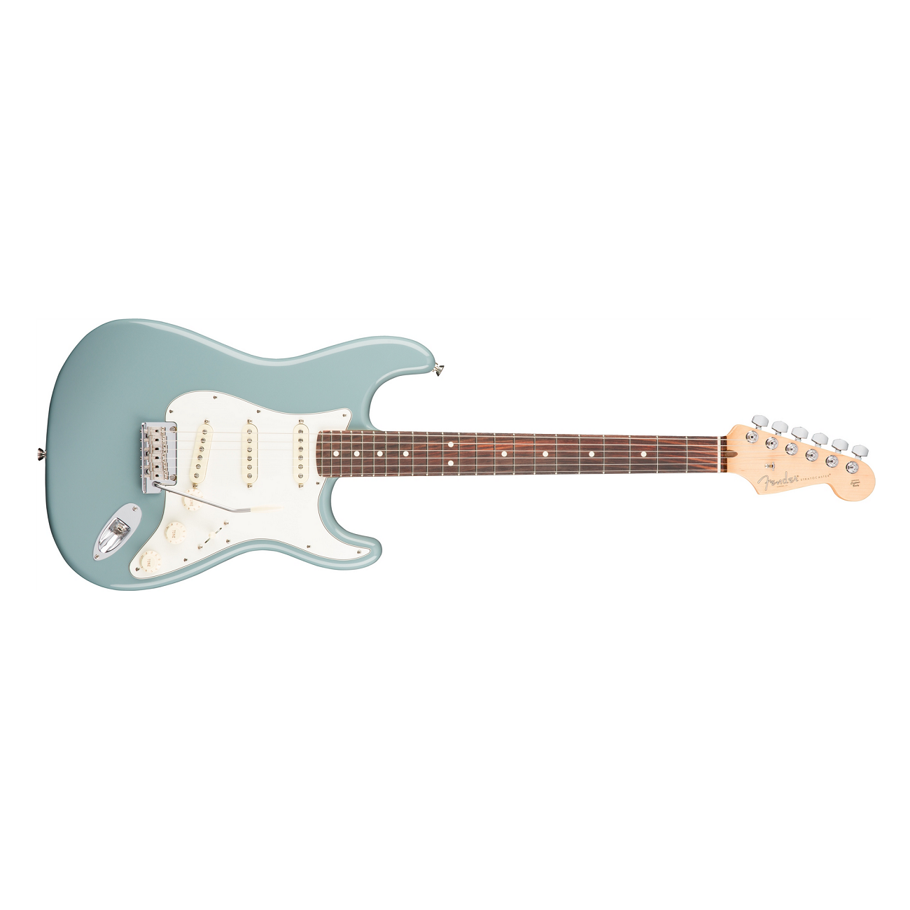 Fender American Professional Stratocaster In Sonic Gray With Rosewood Fingerboard Fender American Folk Instruments Guitar