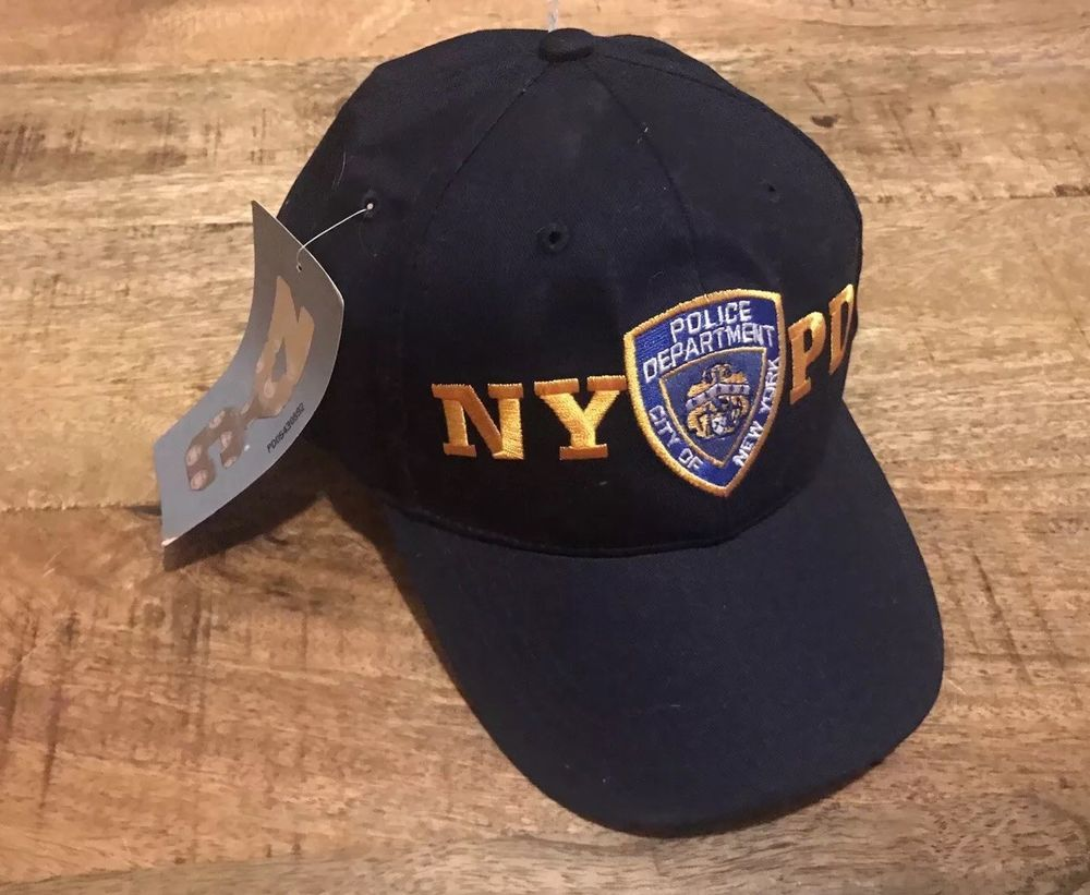 NYPD Baseball Cap Hat Licensed By The New York City Police Department Navy  NWT  fashion deb8bf7cda59
