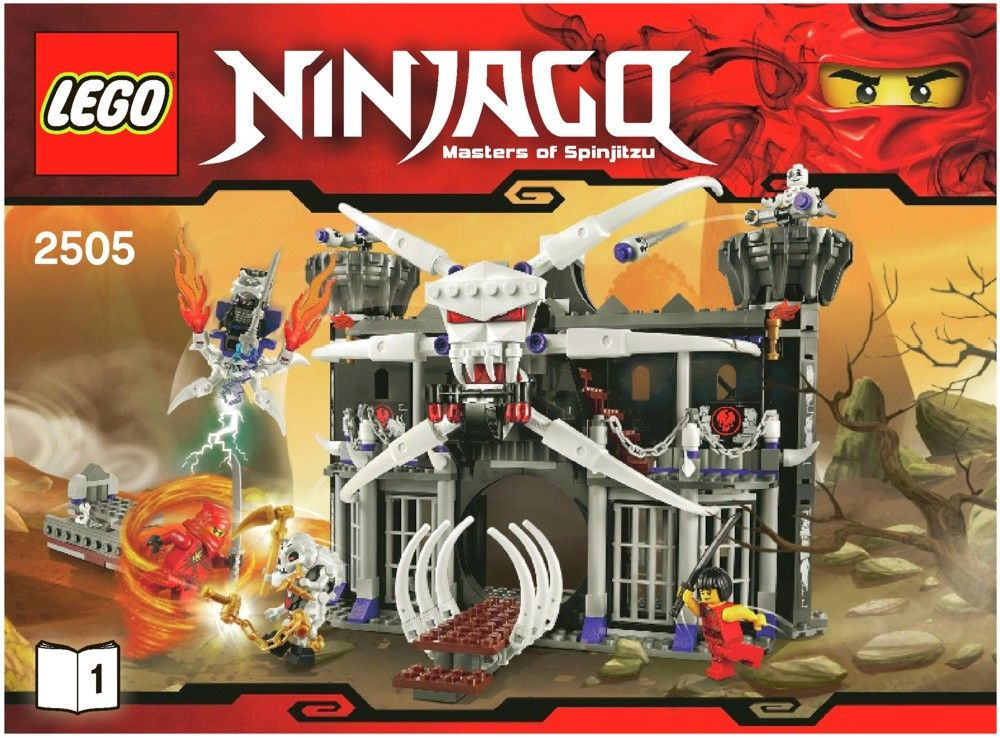 lego ninjago city instructions