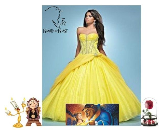 """""""beauty and the beast"""" by vierac ❤ liked on Polyvore featuring Lumière"""