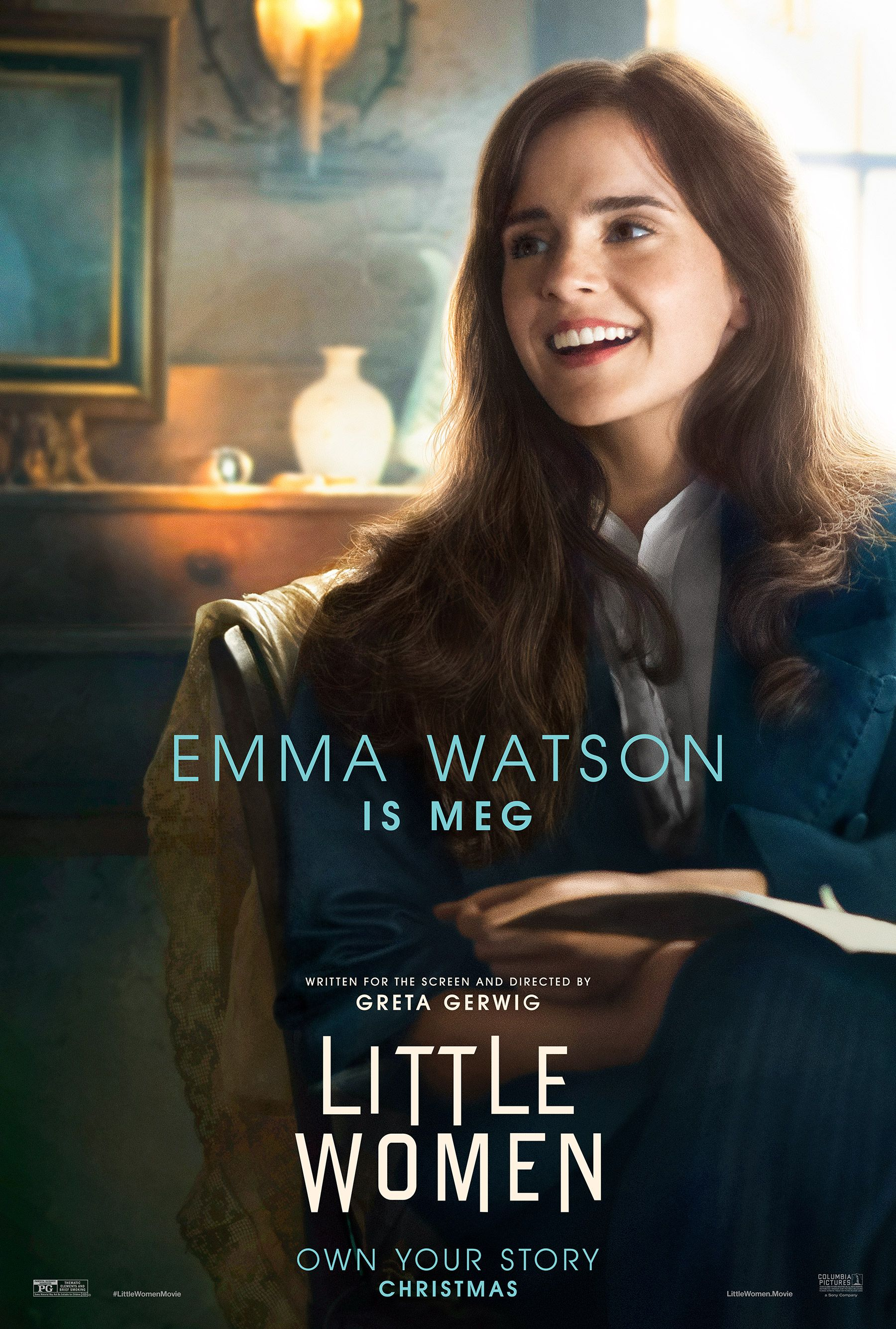 Saoirse Ronan Emma Watson Timothee Chalamet Are Ready To Break Hearts In New Little Women Posters Emma Watson Movies Woman Movie Emma Watson