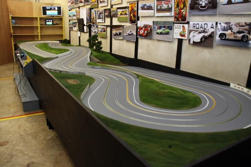 wood routed slot car track Google Search Slot Car