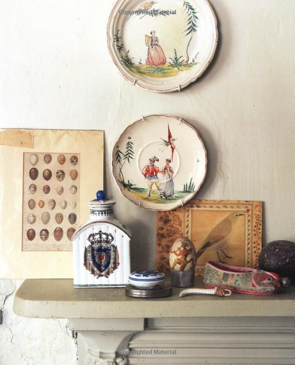 The English Eccentric Ros Byam Shaw: Charming Display From Perfect English Cottage By Ros Byam