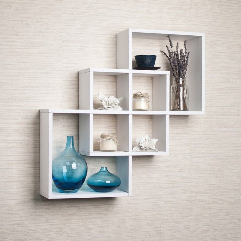 15 Fabulous Minimalist Shelves For Your Living Room In Modern Style Unique Wall Shelves Wall Shelf Decor White Wall Shelves