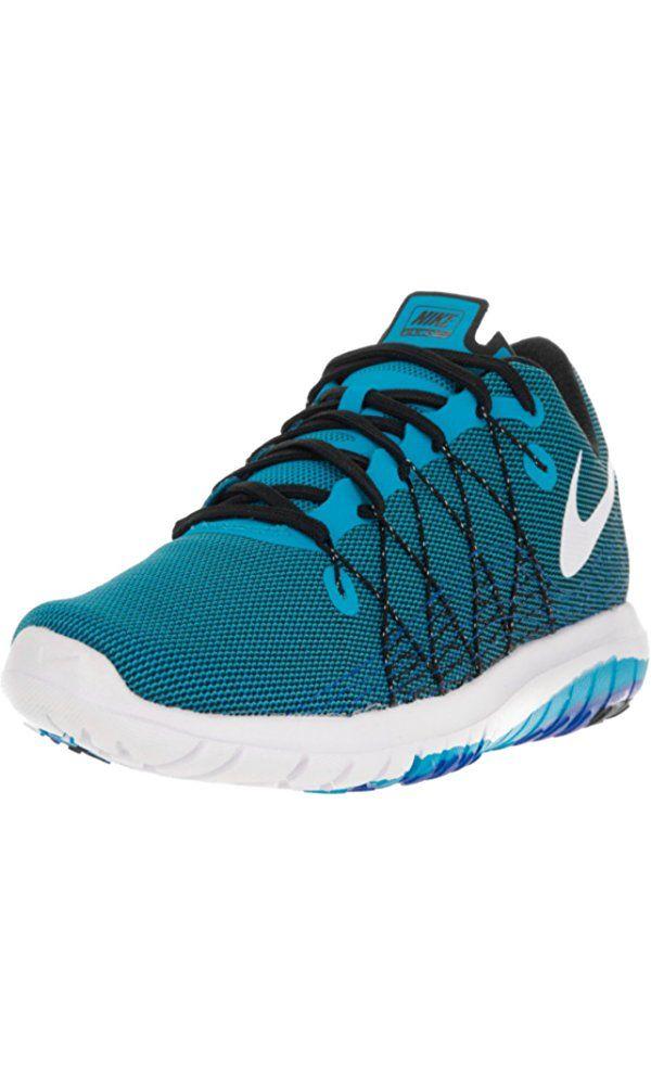 97a6e3c3c8e0 Nike Men s Flex Fury 2 Blue Glow White Black Rcr Blue Running Shoe 8.5 Men  US Best Price