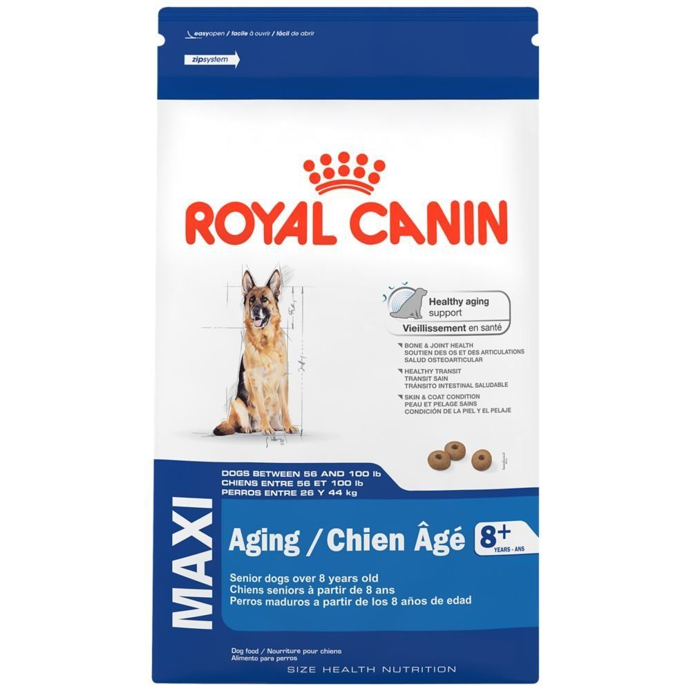ROYAL CANIN SIZE HEALTH NUTRITION MAXI Aging 8  dry dog food -- Want to know more, click on the image. (This is an affiliate link) #MyDog