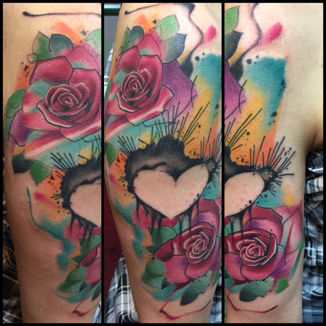 Watercolor tattoo artists in houston texas - Watercolor Tattoo By Elijah Nguyen At Skin Stories Tattoo In Houston Tx Add Me On Instagram