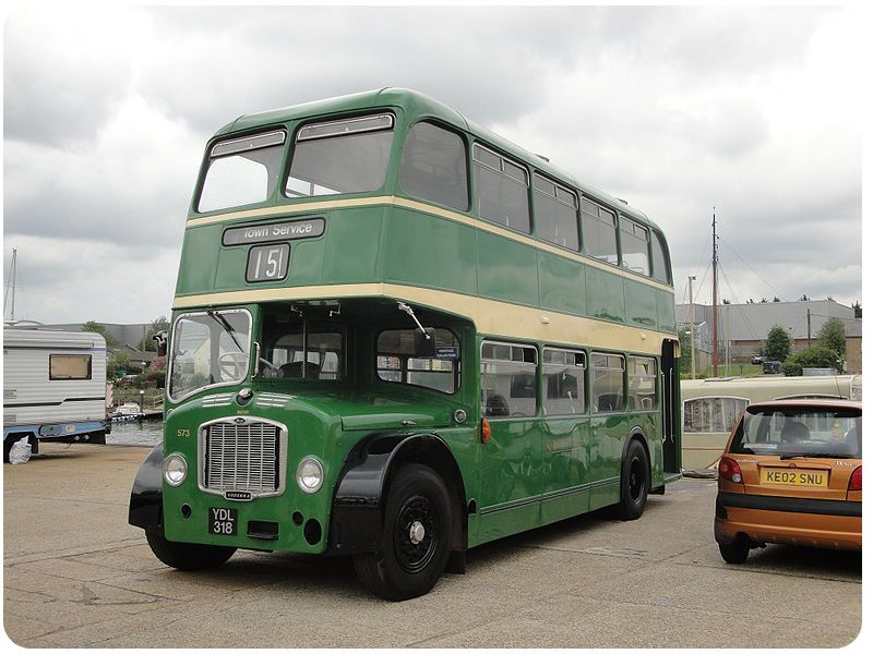 Southern Vectis Vintage Double Decker Bus by Crosville