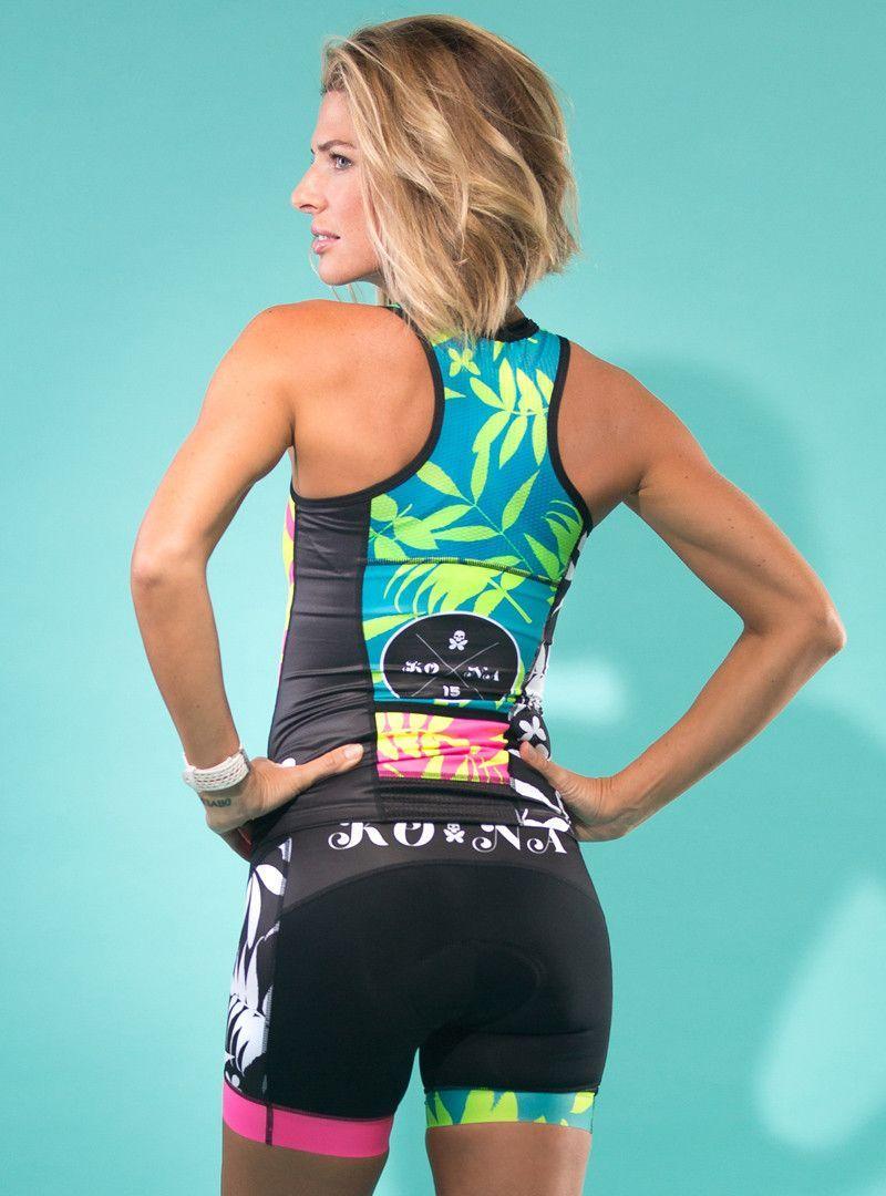 Kona15 Tri Short Triathlon Women Womens Cycling Clothes
