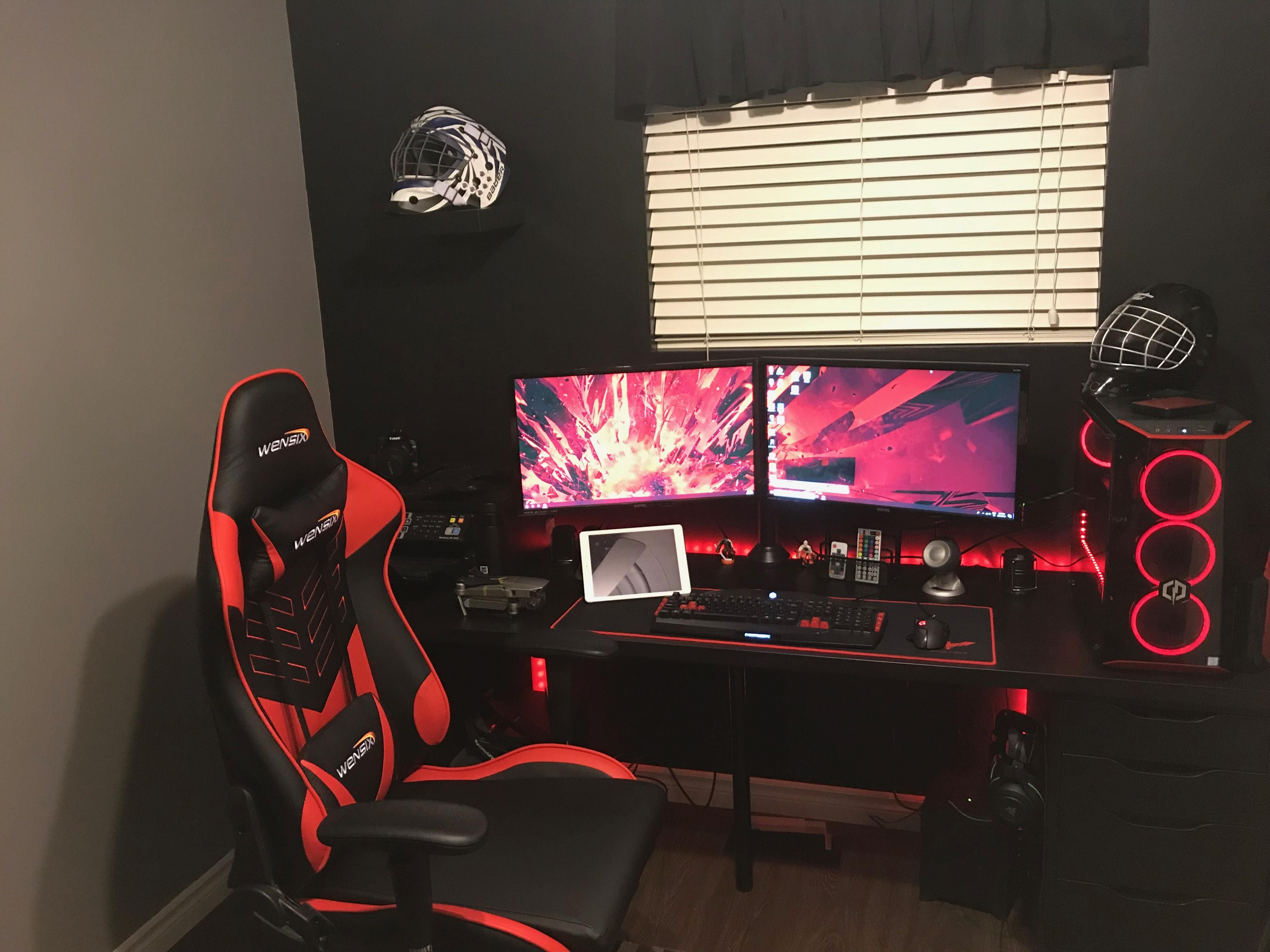 Pleasant My Little Gaming World In 2019 Gaming Room Setup Games Evergreenethics Interior Chair Design Evergreenethicsorg