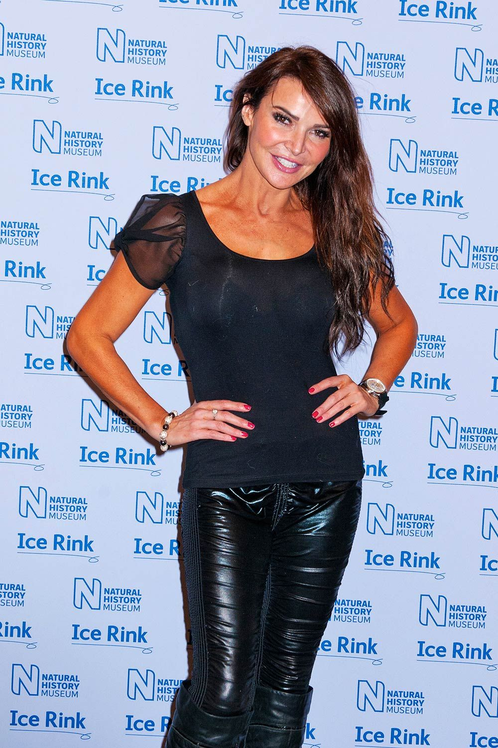 Lizzie Cundy NATURAL HISTORY MUSEUM | Lizzie Cundy attend the launch of the Natural History Museum - Leather ...