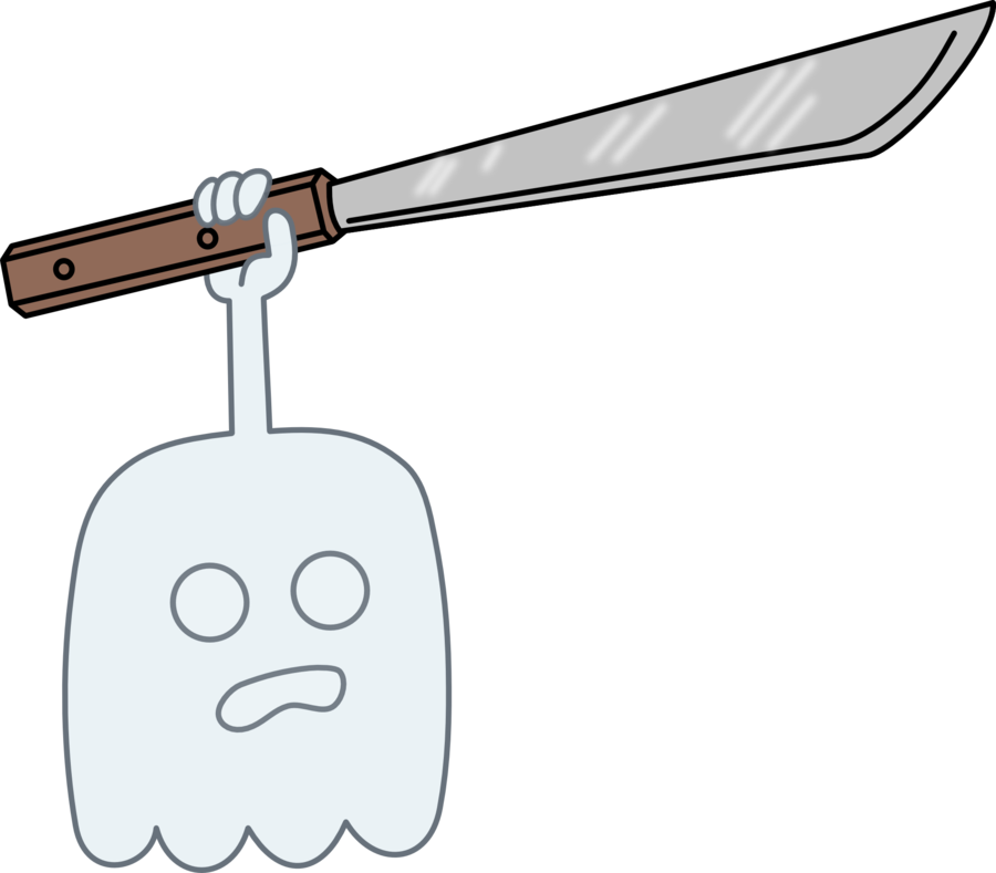 High Five Ghost With A Machete By Kol98 On Deviantart High Five Adventure Time Wallpaper Ghost