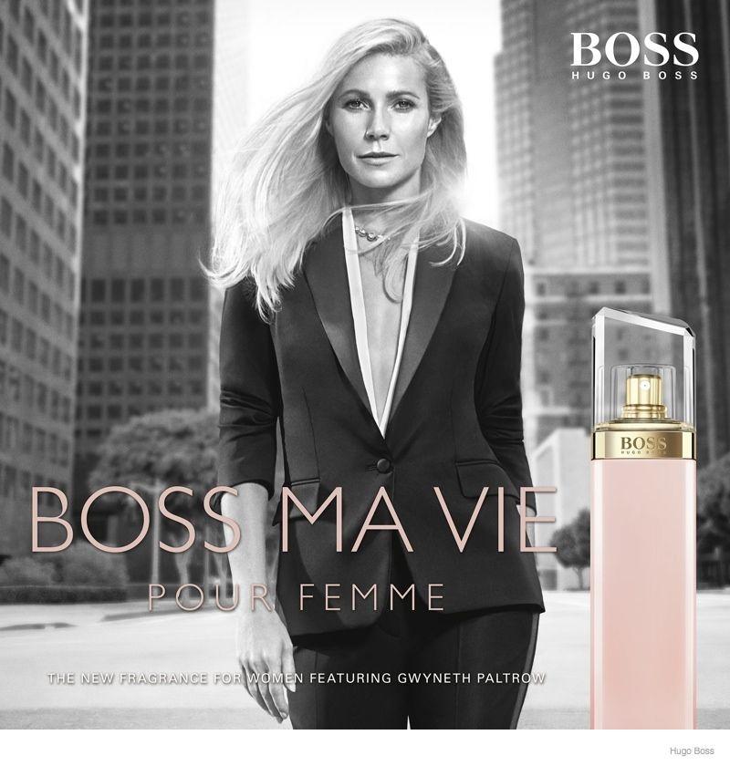 Gwyneth Paltrow For Hugo Boss Boss Ma Vie Fragrance Ad New Fragrances Gwyneth Paltrow Hugo Boss