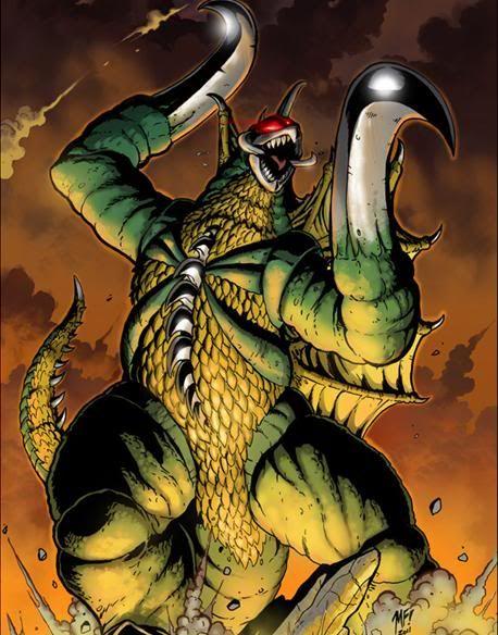 Gigan Monster Artwork by Matt Frank - Godzilla 2014 Gallery