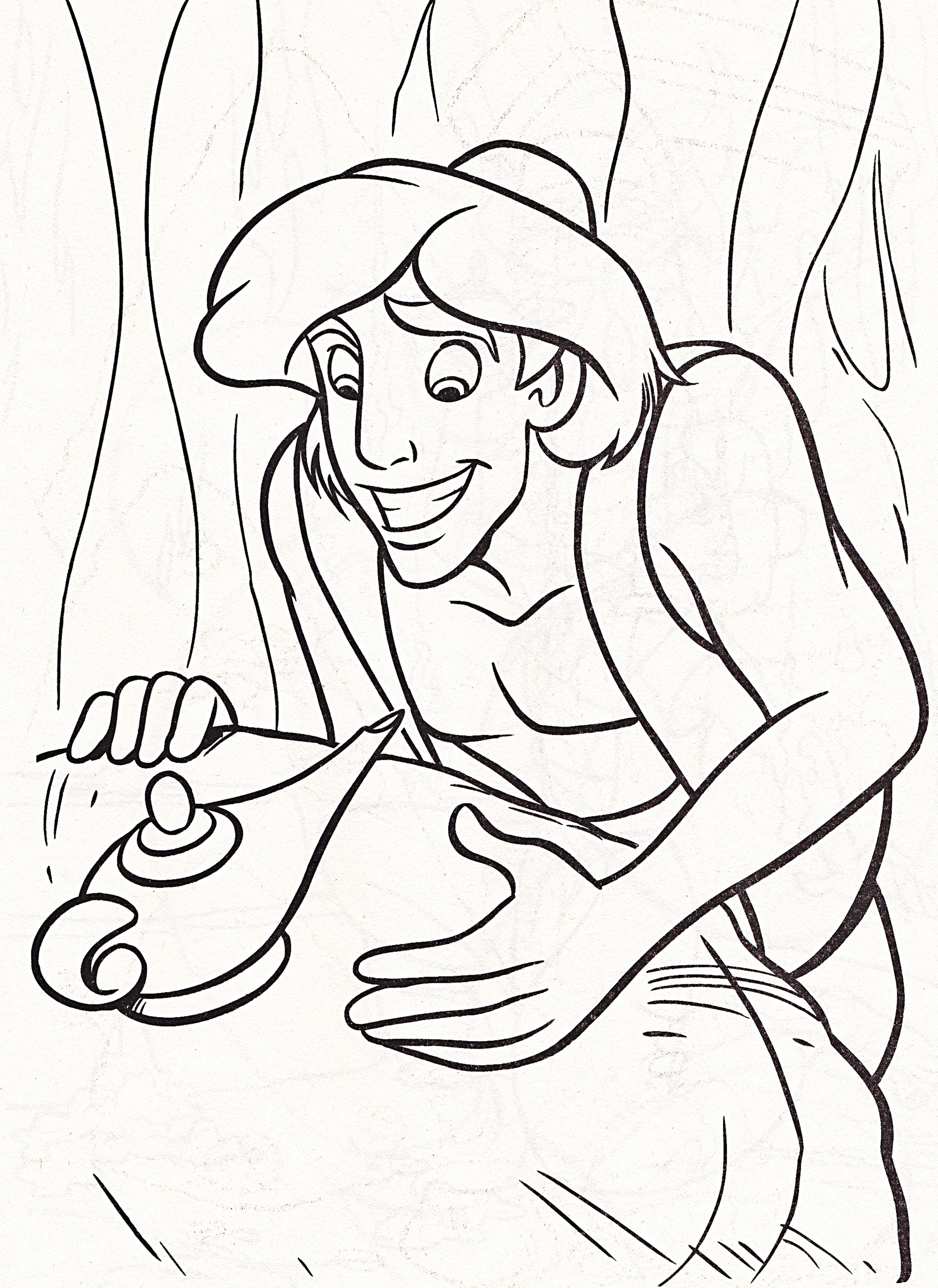 Disney Prince Coloring Pages