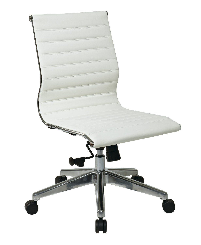 Desk Chair No Arms