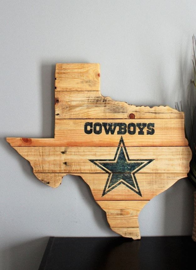 Wooden Man Cave Accessories : Dallas cowboys sports wall decor sign wooden man cave