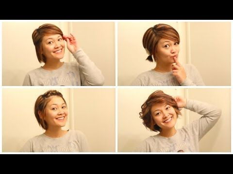 Pin By Iva Petrosino On Git Yur Hurr Did Easy Hairstyles Short Hair Styles Hair Lengths
