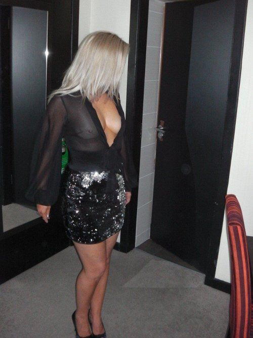 Madame Est Sexy   Mature Ladies   Black sheer blouse ...