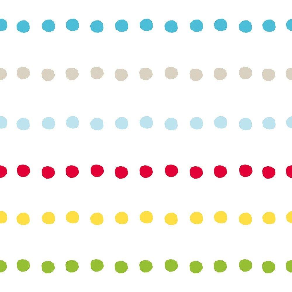 Pooh 123-Bubble Gum Dots bij Behangwebshop