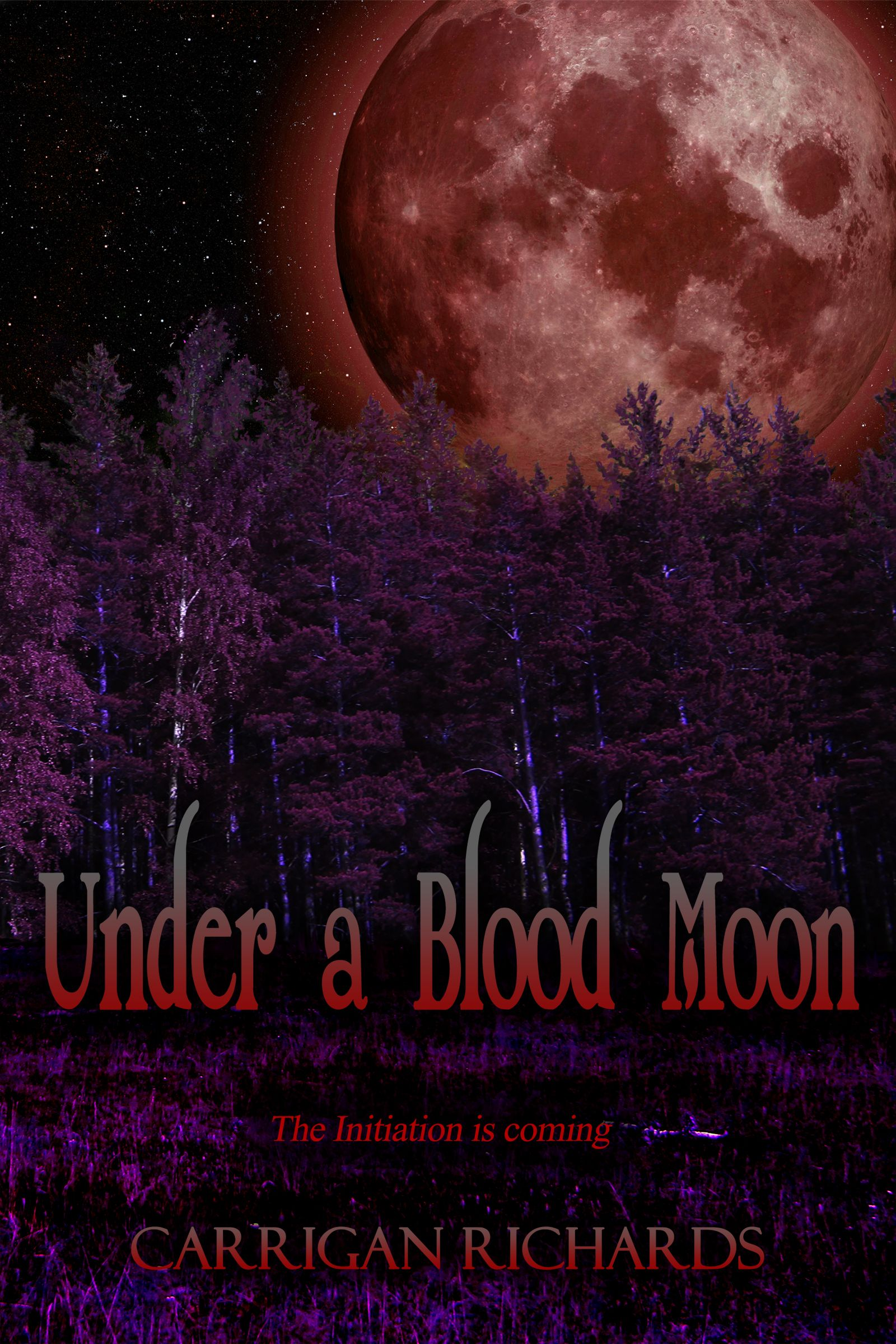 Under A Blood Moon (elemental Enchanters #1) By Carrigan Richards