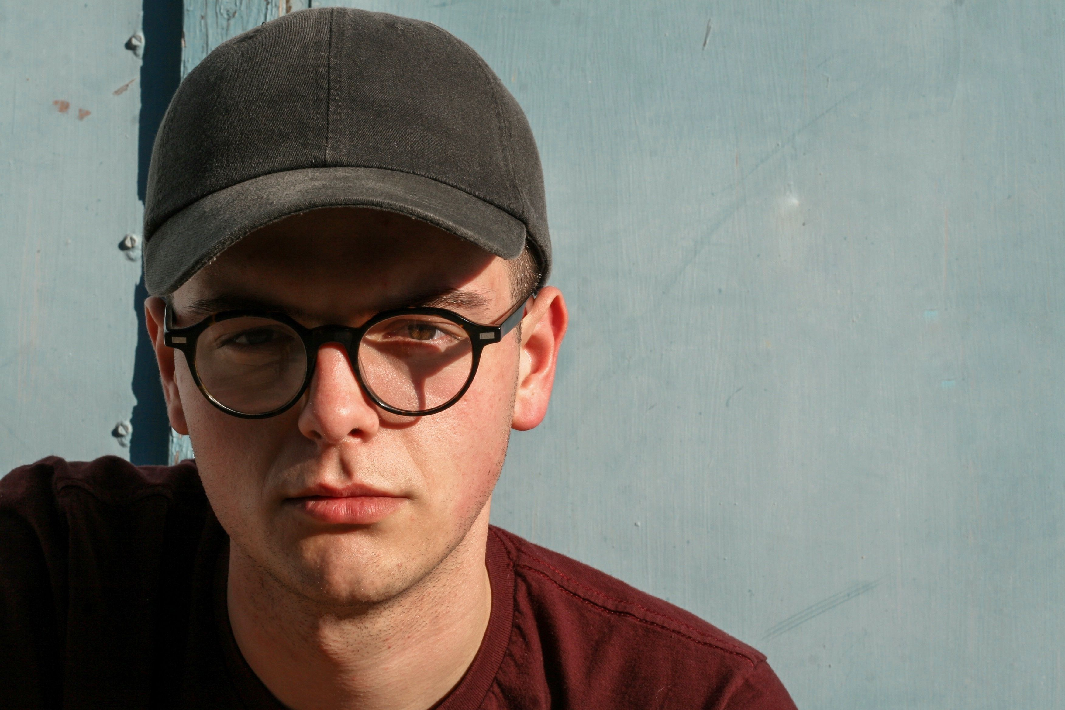 This Is A Photo Of A Young Good Looking Man Wearing A Very Stylish Dad Hat Cap From Https Hatforg Glasses Prescription Glasses Online Prescription Glasses