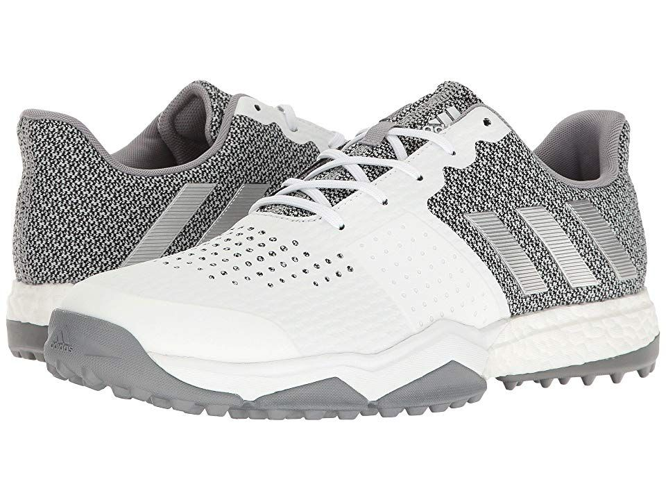 adidas Golf Adipower S Boost 3 Men s Golf Shoes FTWR White Silver Metallic Light  Onix 60d551d93