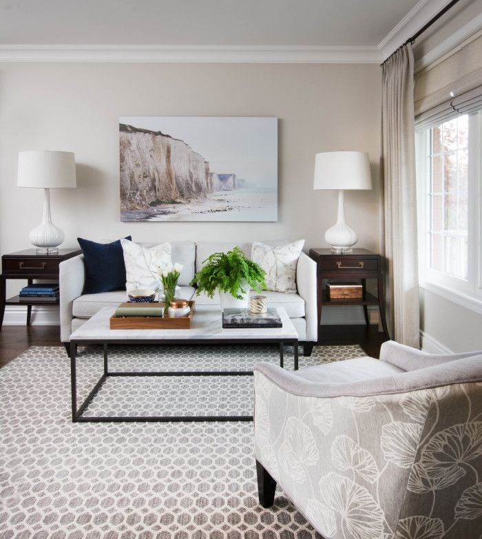 box frame coffee table with marble from west elm / roomvanessa