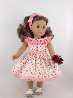 American Girl 18-inch Doll Clothes Floral Sundress by EWimer #18inchdollsandclothes