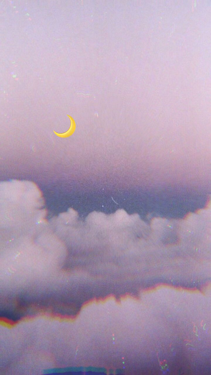 Edit Foto Awan : Yesenia_yle☁️☁️☁️, #wallpaper, #wallpaperiphone, #purple, #clouds, #cloud, #moon, #moonlight, #emoji…, Gambar, Awan,, Pemandangan, Abstrak,, Abstrak
