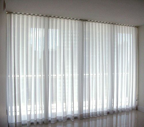 Ripplefold Sheers Drapery Headers Curtains Voile