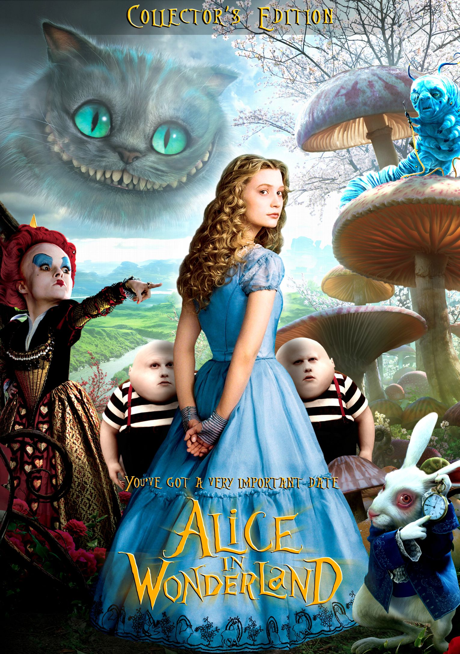 Alice And Wonderland Movie Poster Alice In Wonderland Adventures In Wonderland Alice