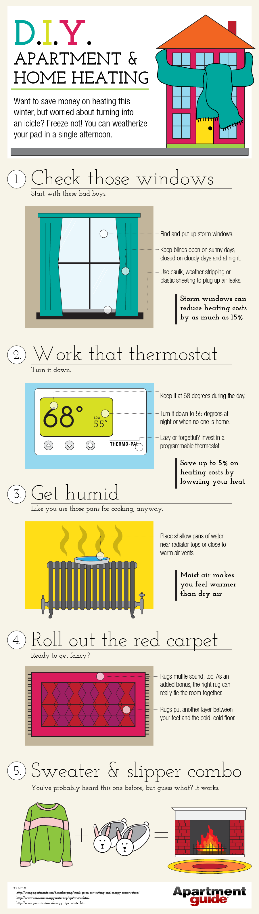 Apartment and Home Heating Tips | MOVING TIPS | Energy ...