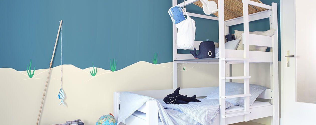 Fesselnd 10 Tipps Für Farbtöne Im Kinderzimmer: Alpina Familie U0026 Farbe