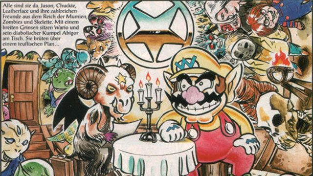 That Time Wario Made A Deal With Satan, And Mario Went To Hell